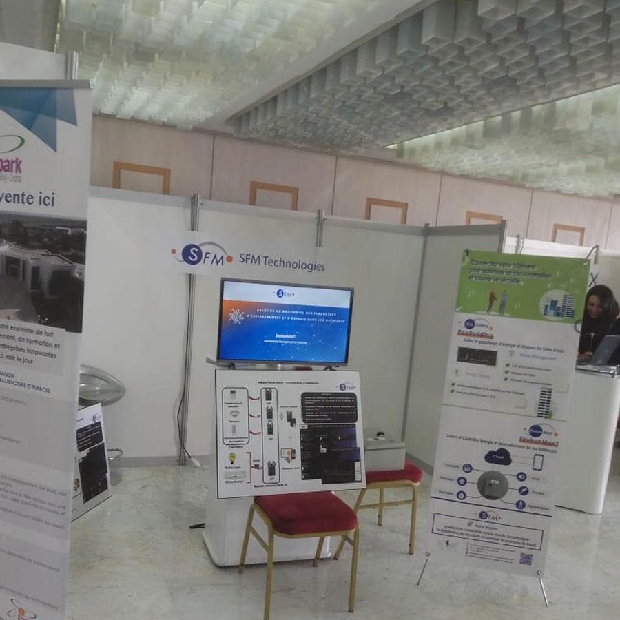 Participation au salon de l'écoconstruction